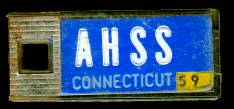 1959 Connecticut DAV Tag